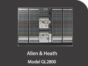 Allen & Heath GL2800 Allen Heath 2800  Products Allen Heath 2800