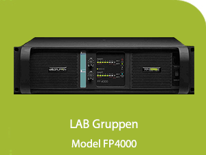 LAB Gruppen Power Amplifier FP4000 AV Phuket Thailand  LAB Gruppen Power Amplifier FP4000 Lab Gruppen 4000  Products Lab Gruppen 4000